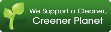 We Support a Cleaner, Greener Planet
